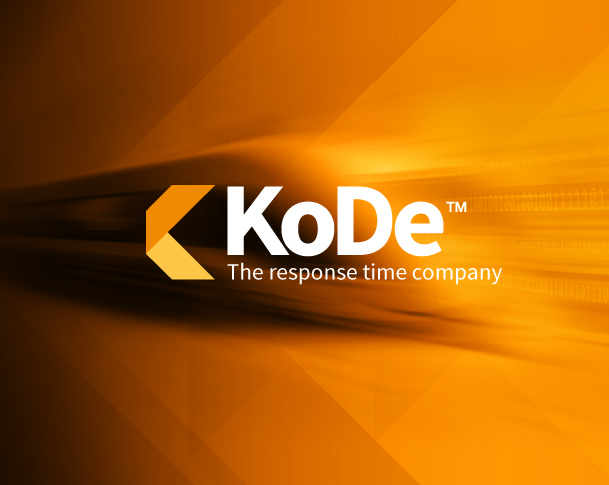 kode software the response time company branding